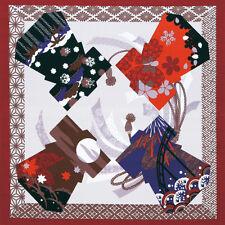 japanese furoshiki  fabric  Title:Kimono and four seasons