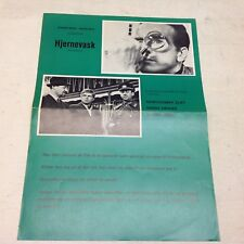 """L'espion"" The Defector Montgomery Clift Vtg 1966 Danish Movie Press Release Kit"