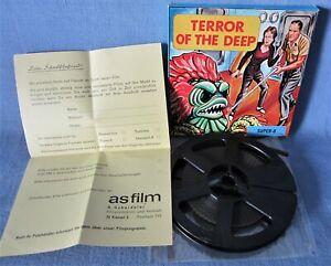 SUPER-8-FILM DER SCHRECKEN AUS DER MEERESTIEFE MONSTER TRASH TERROR OF THE DEEP