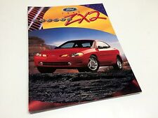 1998 Ford ZX2 Brochure