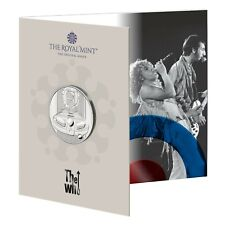 2021 Music Legends - 🎸 The Who 🎸 UK £5 BU Coin in Royal Mint Pack