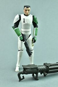 """Star Wars Clone Wars Trooper Hevy with Fives Head Animated 3.75"""""""