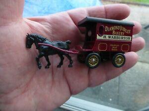 Lledo Days Gone Die Cast Model Horse Drawn H Warburton Bakers