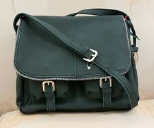 "NEW Dark Teal handbag by Jane Shilton size 12"" x 9"" RRP £79"