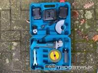 Smerigliatrice a batteria 24 Volt con doppia batteria MT9100