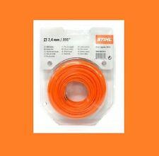 original Stihl Mähfaden d 2,4 mm Länge 43 m - rund - orange