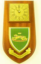 ROYAL ARTILLERY 34 SERINGAPATAM  BATTERY REGIMENTAL HAND MADETO ORDER WALL CLOCK