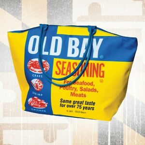 Old Bay Large Tote Carrying Bag - NEW