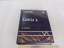 CATALOGO MANUALE OFFICINA LANCIA 1994 LANCIA K   2° VOLUME SOLO BERLINA
