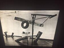 """Mark Di Suvero """"Big Piece 1964"""" Abstract Expressionism Sculpture 35mm Art Slide"""