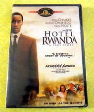 Hotel Rwanda ~ New Dvd Movie ~ 2004 Don Cheadle Drama