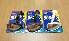 """Fouring 4"""" RAY BAN GOOSE NECK WINDSHIELD MOUNT BLIND SPOT MIRROR"""