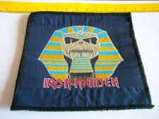 IRON MAIDEN – very rare old original 80s POWERSLAVE, UNCUT Patch!!!