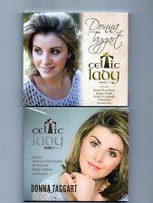 DONNA TAGGART CELTIC LADY Vols 1 & 2 - CDS - Sent 1st Class