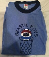 Vintage 90s Beastie Boys ABA - Atwater Basketball Assoc. - Size-L - New -No Tags