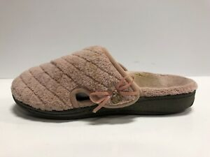 Vionic Women's Indulge Adilyn, Pink Slippers, Size 6M.