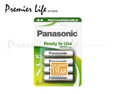 Panasonic hhr-3mve / 4BC pronto all' uso AA 1900MAH RICARICABILE-confezione da 4