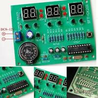 DIY Kit Module 9V-12V AT89C2051 6 Digital LED Electronic Clock Parts 3BP
