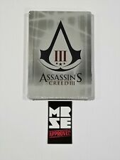 Assassins Creed 3 III Collectible G1 Size Steelbook - Case ONLY No Game New