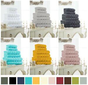 Luxury ZERO TWIST 100% Egyptian Cotton Super Soft 600 GSM Towels Hand Bath Towel