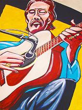 TONY RICE PRINT poster bluegrass santa cruz acoustic guitar martin strings cd lp