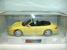 UT Models : Porsche 996 Cabrio Yellow  1:18