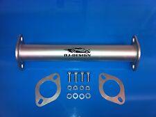 "2.5"" mild steel FTO de-cat pipe Mivec GR GPX GX GS New"