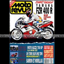 MOTO REVUE N°3025 YAMAHA FZR 400 R TDM 850 + TORO GUZZI 750 SP GILLES LALAY 1992