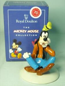 Royal Doulton GOOFY Figurine MM5 70th Mickey Mouse Collection Disney + Box