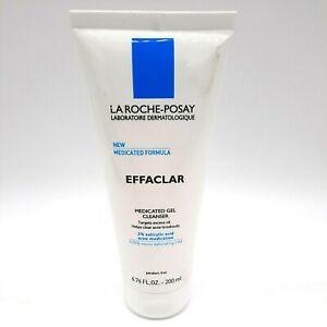 La Roche-Posay Effaclar Medicated Gel Salicylic Acid Face Cleanser 6.76fl 01/24