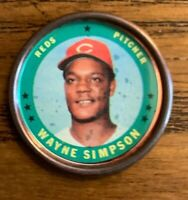 1971 Topps COINS #53 Wayne Simpons - Reds