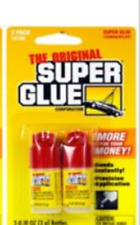 double pack = 2 bottles The original Super Glue in original factory packing