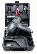 """Compact Impact Wrench Kit 12V DC Electric 1/2"""" Tool Driver Ring Sockets Car -NEW"""