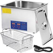 Digital 30L Ultrasonic Cleaner Heater Timer Industrial  Jewelry Free Basket