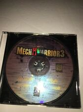 Mech Warrior 3-1999 Microprose-PC CD-ROM-TESTED-RARE VINTAGE-SHIPS IN 24 HOURS
