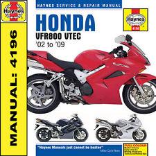 Honda VFR800 V-Tec 2002-2009 Haynes Anleitung 4196 NEU