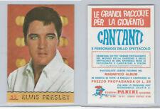 1968 Panini, Cantanti Music Artists Card, #53 Elvis Presley, ZQL