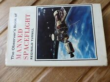 Old book Observer's Book of Manned Spaceflight Reginal Turnill 1972 1st ed no 48