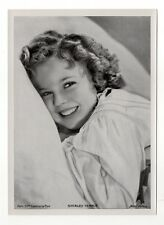 "Shirley Temple 1937 Union Dresden Film Star Series 7 5""X7"" Cigarette Photo Card"