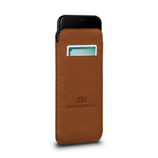 Case Sena Leather POUCH Ultraslim Sleeve Wallet for Apple iPhone XS MAX - TAN