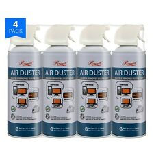 Rosewill Compressed Air Duster, 10oz Cleaning Spray for Electronics 4-Pack