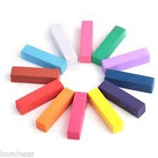 12 Colores No Tóxico Temporal Color Tiza Para Pelo Teñido pastas Salón Kit Charm