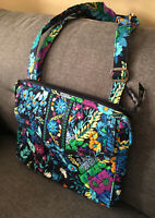 Vera Bradley Midnight Blues Messenger Crossbody Bag Retired Excellent