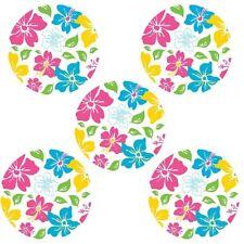 Hawaiian Dots 5 BiG Wall Decals Room Decor Stickers Island Fusion Art Circle New