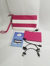 Portable Charger Wristlet, Halo RFID Protection.