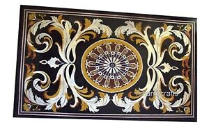 30 x 48 Inches Marble Living Room Table Top with Elegant Pattern Coffee Table