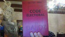 Code Electoral 2001 Dalloz
