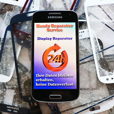 Display Reparatur Samsung Galaxy S3 mini i8190  Glas Austausch UV-Vollverklebung