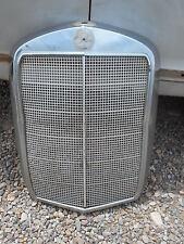 Mercedes Benz Ponton Front Grill  bonet chrome Kühlerschutzgitter OEM 1957  180