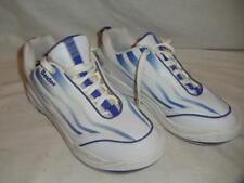 Dexter Womens Ladies Size 8.5 M Bowling Shoes White Blue EXCELLENT Condition
